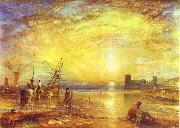 Flint Castle, J.M.W. Turner