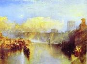 Ancient Rome; Agrippina Landing with the Ashes of Germanicus, J.M.W. Turner