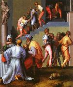 Jacopo Pontormo Punishment of the Baker oil painting reproduction