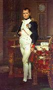 Jacques-Louis  David Napoleon in his Study USA oil painting reproduction