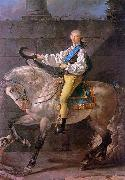 Jacques-Louis David Count Potocki