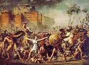 Jacques-Louis David The Sabine Women oil painting