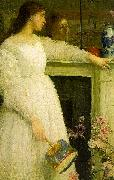 James Abbott McNeil Whistler Symphony in White 2 oil painting reproduction