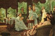 In the Conservatory (Rivals), James Tissot