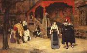 Meeting of Faust and Marguerite, James Tissot