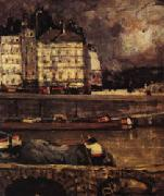 The Left Branch of the Seine before the Place Dauphine, James Wilson Morrice