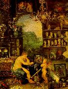 Jan Brueghel The Sense of Vision USA oil painting reproduction