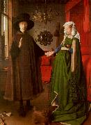 Jan Van Eyck The Arnolfini Marriage oil painting