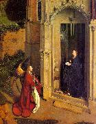 Jan Van Eyck The Annunciation  6 oil painting