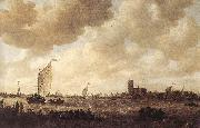 Jan van Goyen View of Dordrecht oil painting