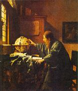 JanVermeer The Astronomer oil painting reproduction
