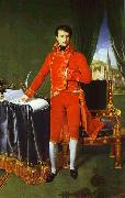Portrait of Napoleon Bonaparte, The First Council., Jean Auguste Dominique Ingres