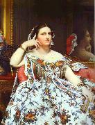 Portrait of Madame Moitessier Sitting., Jean Auguste Dominique Ingres