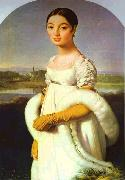 Portrait of Mademoiselle Riviere., Jean Auguste Dominique Ingres