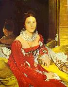 Portrait of Madame de Senonnes., Jean Auguste Dominique Ingres