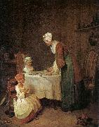 Jean Baptiste Simeon Chardin Grace before a Meal oil painting