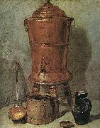 Jean Baptiste Simeon Chardin The Copper Cistern USA oil painting reproduction