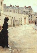 Jean Beraud The Wait (san11) USA oil painting reproduction