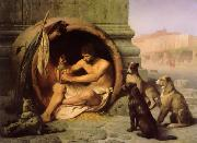 Jean Leon Gerome Diogenes oil painting reproduction