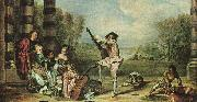 The Music Party, Jean-Antoine Watteau