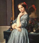 Jean-Auguste Dominique Ingres The Comtesse d'Haussonville oil painting
