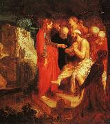 John Pynas The Raising of Lazarus oil painting reproduction