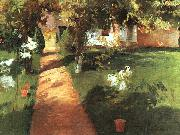 John Singer Sargent Millet s Garden oil painting on canvas