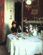 The Breakfast Table, John Singer Sargent