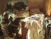An Artist in his Studio, John Singer Sargent