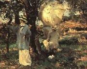 The Sketchers, John Singer Sargent