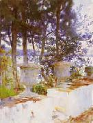 The Terrace, John Singer Sargent