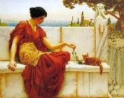 The Tease, John William Godward