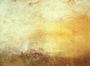 Joseph Mallord William Turner Sunrise with Sea Monsters oil painting reproduction