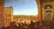 Joseph Mallord William Turner Rome from the Vatican oil painting
