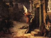 Jules Elie Delaunay The Plague in Rome oil painting reproduction