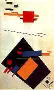 Kasimir Malevich Suprematism oil painting