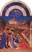 Les trs riches heures du Duc de Berry: Avril (April) tg, LIMBOURG brothers