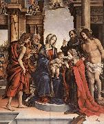 The Marriage of St Catherine gwt, LIPPI, Filippino