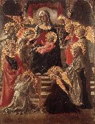 LIPPI, Fra Filippo St Stephen is Born and Replaced by Another Child (detail) sf oil painting