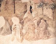 LIPPI, Fra Filippo Disputation in the Synagogue (detail) sg oil painting
