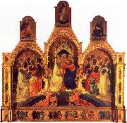 Lorenzo Monaco The Coronation of the Virgin oil painting