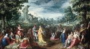 MANDER, Karel van The Continence of Scipio sg oil painting