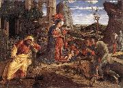 MANTEGNA, Andrea The Adoration of the Shepherds sf oil painting on canvas