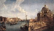 MARIESCHI, Michele The Grand Canal near the Salute sg oil painting reproduction