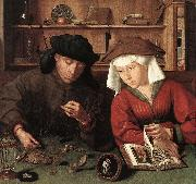 MASSYS, Quentin The Moneylender and his Wife sg oil painting reproduction