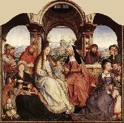 MASSYS, Quentin St Anne Altarpiece (central panel)  g oil painting