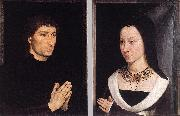 Tommaso Portinari and his Wife wh
