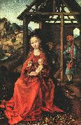 Martin Schongauer Nativity oil painting reproduction