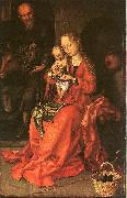 Martin Schongauer Holy Family oil painting reproduction