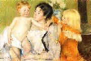 Mary Cassatt After the Bath oil painting reproduction